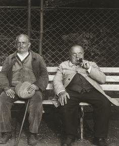 August Sander. Blind Miner and Blind Soldier. c. 1930