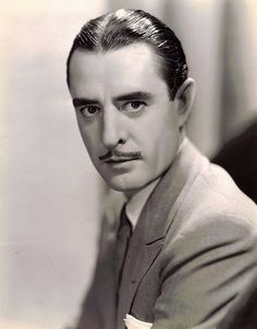 Portrait of John Gilbert by George Hurrell, 1932 Hollywood Actor, Golden Age Of Hollywood, Hollywood Celebrities, Hollywood Glamour, Classic Hollywood, Old Hollywood, Silent Screen Stars, Silent Film Stars, Movie Stars