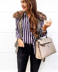 """Stitch Fix on Instagram  """"Well-equipped in  equipmentfr. You totally nailed  that shirt tuck too 7f31fb578"""