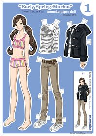 ✄Paper Dolls by Siyi Lin