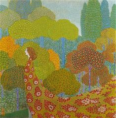 Vittorio Zecchin, Spring, 1910s on Flickr.      Vittorio Zecchin (Italian, 1878-1947)