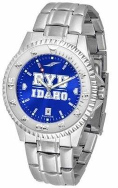BYU Brigham Young University Men's Stainless Steel Dress Watch by SunTime. $88.95. Stainless Steel. Officially Licensed Brigham Young Cougars Men's Stainless Steel Dress Watch. Links Make Watch Adjustable. Men. AnoChrome Dial Enhances Team Logo And Overall Look. BYU Brigham Young men's stainless steel watch. College dress watch with rotating bezel color-coordinated to compliment your favorite team logo. The Competitor Steel utilizes an attractive and secure st...