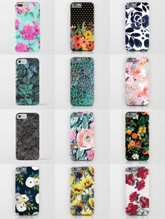 Society6 Floral Phone Cases - Society6 is home to hundreds of thousands of artists from around the globe, uploading and selling their original works as 30+ premium consumer goods from Art Prints to Throw Blankets. They create, we produce and fulfill, and every purchase pays an artist.