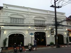 Oldest hotel in Phuket - the Sino-Portuguese architecture in old town with its heritage buildings. Hotel On On refurbished and reopened now
