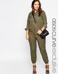 ASOS CURVE Exclusive Boiler Suit