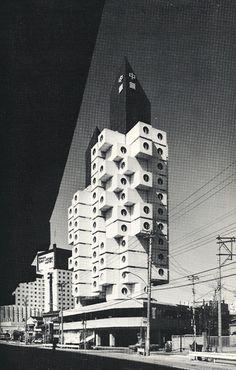 Nakagin Capsule Building - 1972- Kisho Kurokawa