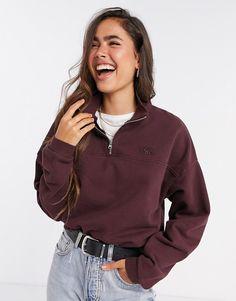 Asos, Hoodies, Sweatshirts, Hooded Jacket, Latest Trends, Burgundy, Jackets, Stuff To Buy, Shopping