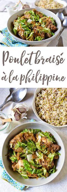 Une recette toute simple pour préparer un poulet mijoté à la Philippine fondant et super goûteux. Et aussi : mon avis sur l'Instant Pot !