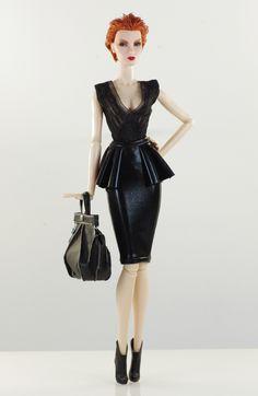 prepare for (FR2 body) set inc.: coat, top, skirt. bag, shoes.