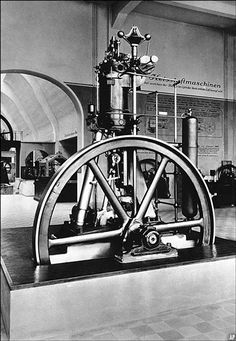 first diesel engine - Google Search. Rudolf Diesel invented the diesel engine in 1892. The diesel engine would be used for submarines boats and trucks.