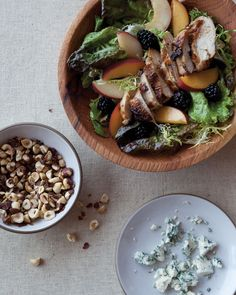 Grilled Chicken Salad from Bon Appetit magazine