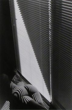 Lucien Clergue: Nu au Store Miami (Nude with Blinds, Miami), 1991 Silver Print, Gelatin Silver Print
