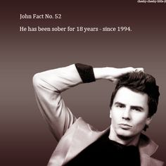John Fact No. 52 - so proud of JT for this one