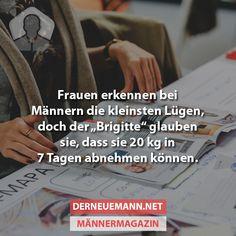 Frauen erkennen bei Männern die kleinsten Lügen ... #derneuemann #humor #lustig…
