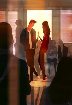 Remember that moment in the train? Felt like magic... #pascalcampion
