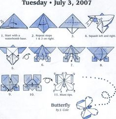 Butterfly === might have been more impressive in duo paper. Also, the two layers if the top wing separate and there doesn't seem to be a way to lock them short of adhesive.