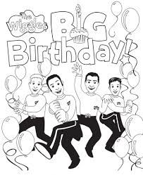 Image Result For The Wiggles Big Red Car Coloring Page Wiggles