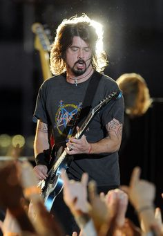 Dave Grohl~ Foo Fighters   The 54th Annual GRAMMY Awards - Outside Concerts