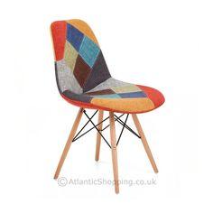 Chaise Eames Patchwork Mosaïque
