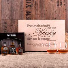 Ihr bester Freund oder Ihre beste Freundin hat Geburtstag und Sie sind auf der Suche nach einem ganz besonderen Geschenk zu diesem Anlass? Für den Fall, dass er oder sie ein leidenschaftlicher Whisky Fan ist, haben wir hier eine Geschenkidee die ihresgleichen sucht.