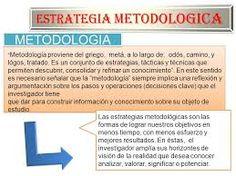 Resultado de imagen para tipos estrategias metodologicas