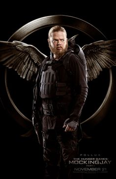 Meet the Rebels in These Awesome New Hunger Games: Mockingjay Posters: Pollux