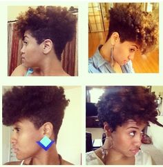 This cut looks AMAZING. I'm thinking twice about growing out my twa....maybe I'll just taper it!