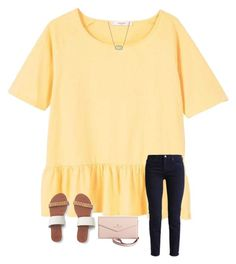 """""""Untitled #366"""" by madison-mills-1 on Polyvore featuring MANGO, Aéropostale, Kate Spade, J.Crew and Kendra Scott"""