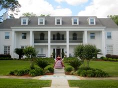 Our beautiful Epsilon Zeta chapter of Kappa Kappa Gamma house at Florida State University