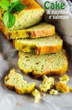 Cake zucchine e salmone