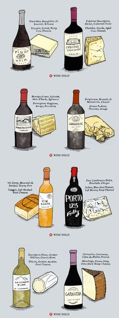 6 Great Tips on Pairing Wine and Cheese