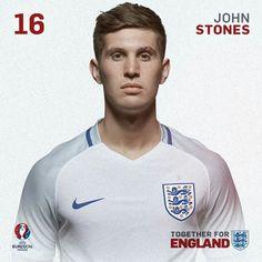 National Football Teams, Sport Football, Barnsley Fc, John Stones, England National, Uefa Euro 2016, England Football, International Football, Fifa