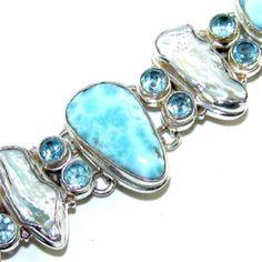 Beautiful larimar Bracelet