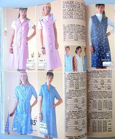 Summer Dresses, Retro, Blouse, People, Photography, Fashion, Apron, Fashion Styles, Catalog