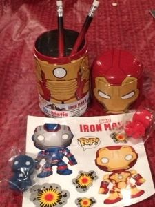 Iron man 3 office set @Loot Crate  #subscriptionbox review amazing box