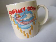 Heavenly Body Pinup Vintage mug
