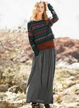 Additional view of Esplanade Pima & Alpaca Pullover