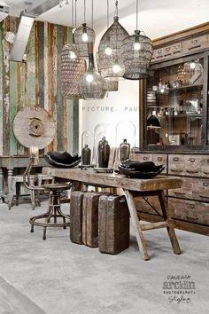 EN MI ESPACIO VITAL: Muebles Recuperados y Decoración Vintage: Quedamos en... mi tienda favorita {Let's meet at my favorite shop}