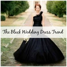 The Black Wedding Dress Trend: Would You Wear Black?