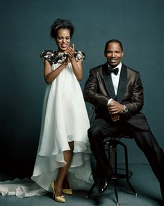 Kerry Washington & Jamie Foxx