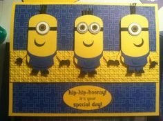 Minions by garken - Cards and Paper Crafts at Splitcoaststampers by deanne