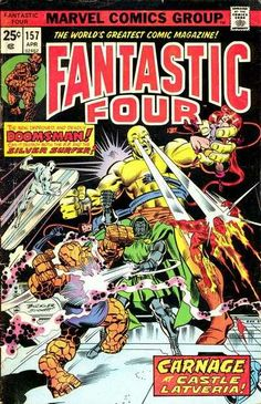 Fantastic Four # 157 by Rich Buckler & Joe Sinnott