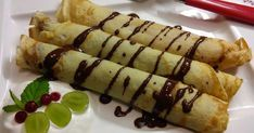 Tasty, Yummy Food, Asparagus, Zucchini, Sushi, Food And Drink, Cooking Recipes, Sweets, Lunch