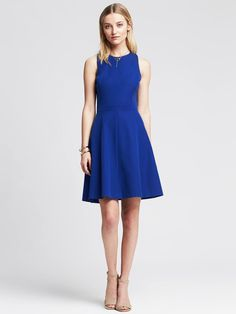 Banana Republic | Sloan Fit-and-Flare Dress