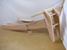 Easy Wood Projects, Woodworking Projects Diy, Backyard Chairs, Pallette, Wood Bike, Balance Bike, Wishbone Chair, Own Home, Clothes Hanger