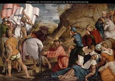 The Journey to Calvary c.1540 - Jacopo Bassano (Jacopo da Ponte)
