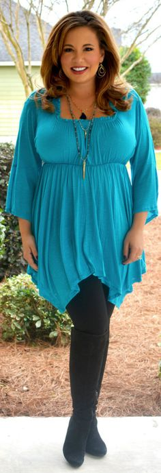 Perfectly Priscilla Boutique - Teal Me A Story Top, $27.00 (http://www.perfectlypriscilla.com/teal-me-a-story-top/)