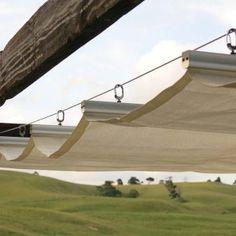 Wave Shades (Retractable Shades) Ready Made Sizes – Shade Sails LLC