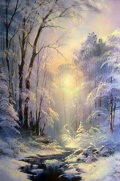 New nature winter scenery 33 Ideas Winter Landscape, Landscape Art, Landscape Paintings, Winter Painting, Winter Art, Winter Pictures, Nature Pictures, Winter Scenery, Snow Scenes