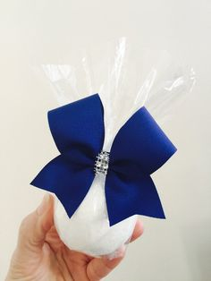 You choose Bow Color! Bath Bomb is lavender scented if you are looking for a different color bath bomb or scent just ask! Cheer Gift Bags, Cheer Team Gifts, Cheer Camp, Football Cheer, Cheer Coaches, Cheer Party, Cheer Dance, Cheer Bows, Cheer Competition Gifts